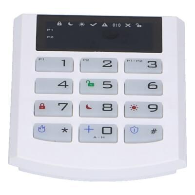 iQAlarm iQA-KP32LED/WHITE, LED kezelő, vezetékes
