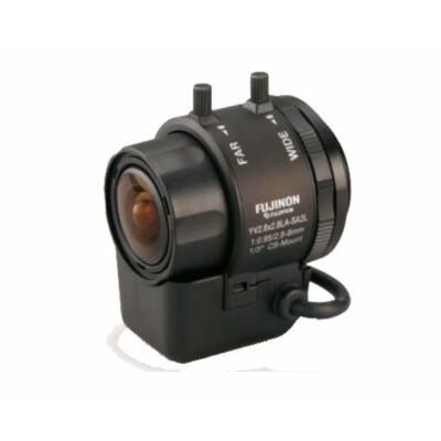 "FUJINON 2,8-8mm (YV2.8x2.8LA-SA2L), DC AI optika, 1/3"", 1/4"""