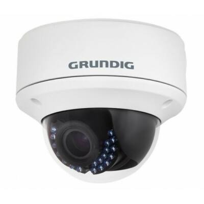 GRUNDIG GCT-K0126V, HD-TVI IR LED dóm kamera, 2.8-12mm, 2MP
