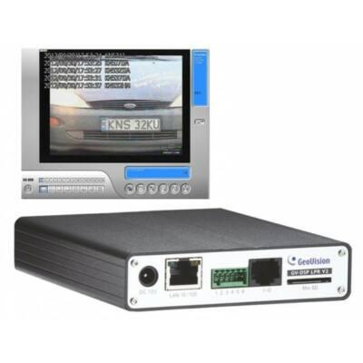 GV-LPR DSP V3, 1 csatornás csak rendszám