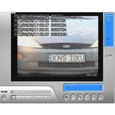 GV-LPR06, 6 csatornás rendszámfelismerő, azonosító szoftver