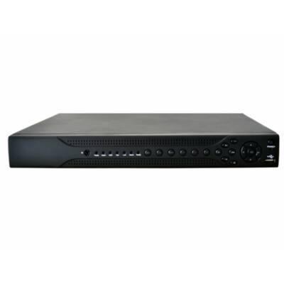 IdentiVision IHD-RT1620/12, 16 csatornás 1MP AHD dvr rögzítő, max. 2db HDD