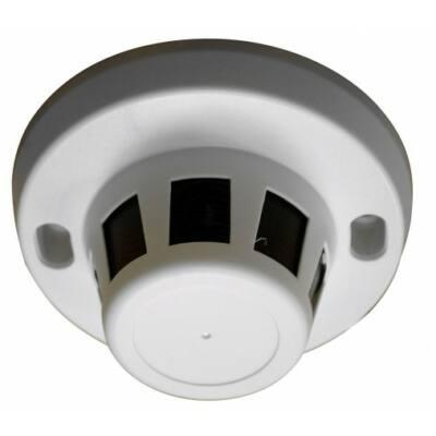 IIP-S100WAC, füstérzékelőbe rejtett IP kamera, 1MP, tűoptika, WiFi, Audió, SD