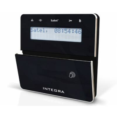 INTKLFR-BSB, nyitható modern LCD kezelő olvasóval