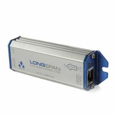 Veracity LONGSPAN(VLS-1P-C) Ethernet Hosszabító PoE KAMERA Egység (PoE táplálás)