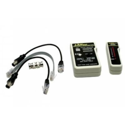 CTRU01-RG-UTP, ethernet kábel teszter (UTP+koax)