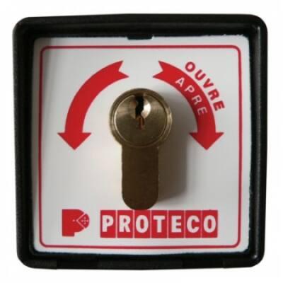 RS015, kulcsos kapcsoló szett, kétállású
