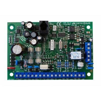 SA52P, 10 zónás riasztóközpont panel