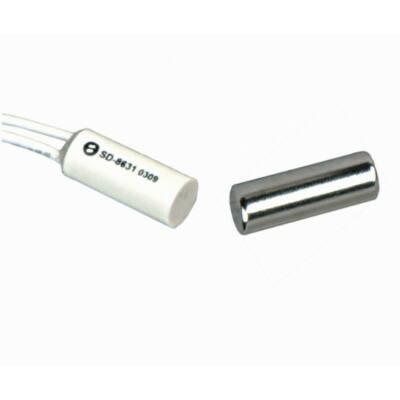 SD8631, nyitásérzékelő, befúrható, fém mágnessel