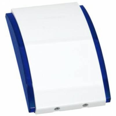 SPW220BL, beltéri hang- fényjelző, szögletes (kék)
