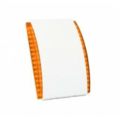 SPW220O, beltéri hang- fényjelző, szögletes (narancssárga)