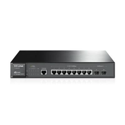 TP-LINK TL-SG3210 Managelhető Switch Rackmount Layer2 8G+2SFP port10/100/1000Mps