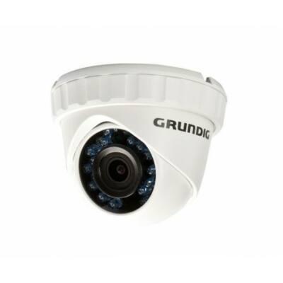 GRUNDIG GCT-K0123E, CONNECT 2MP, HD-TVI, 3.6mm IR LED,beltéri/kültéri dóm kamera